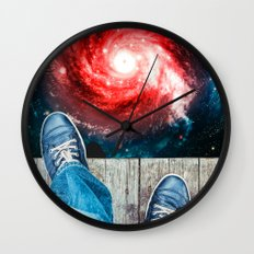 Edge Of The Universe Wall Clock