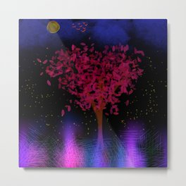 The Tree of Light Metal Print
