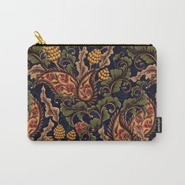 Vintage & Shabby Chic - William Morris Midnight Botanical Garden  Carry-All Pouch