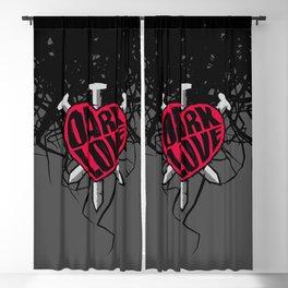 Dark Love Blackout Curtain