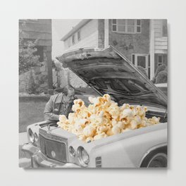 Pop the hood Metal Print