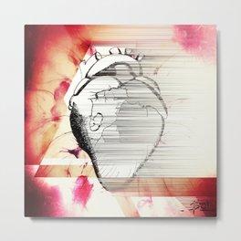 Vagabond Heart Metal Print