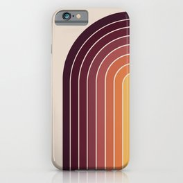 Gradient Arch - Sunset iPhone Case