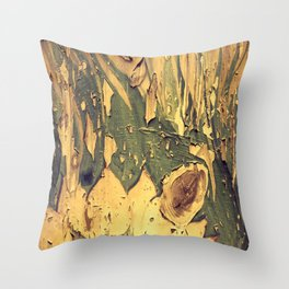 Old Wood 04 Throw Pillow