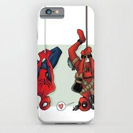 Spideypool iPhone Case