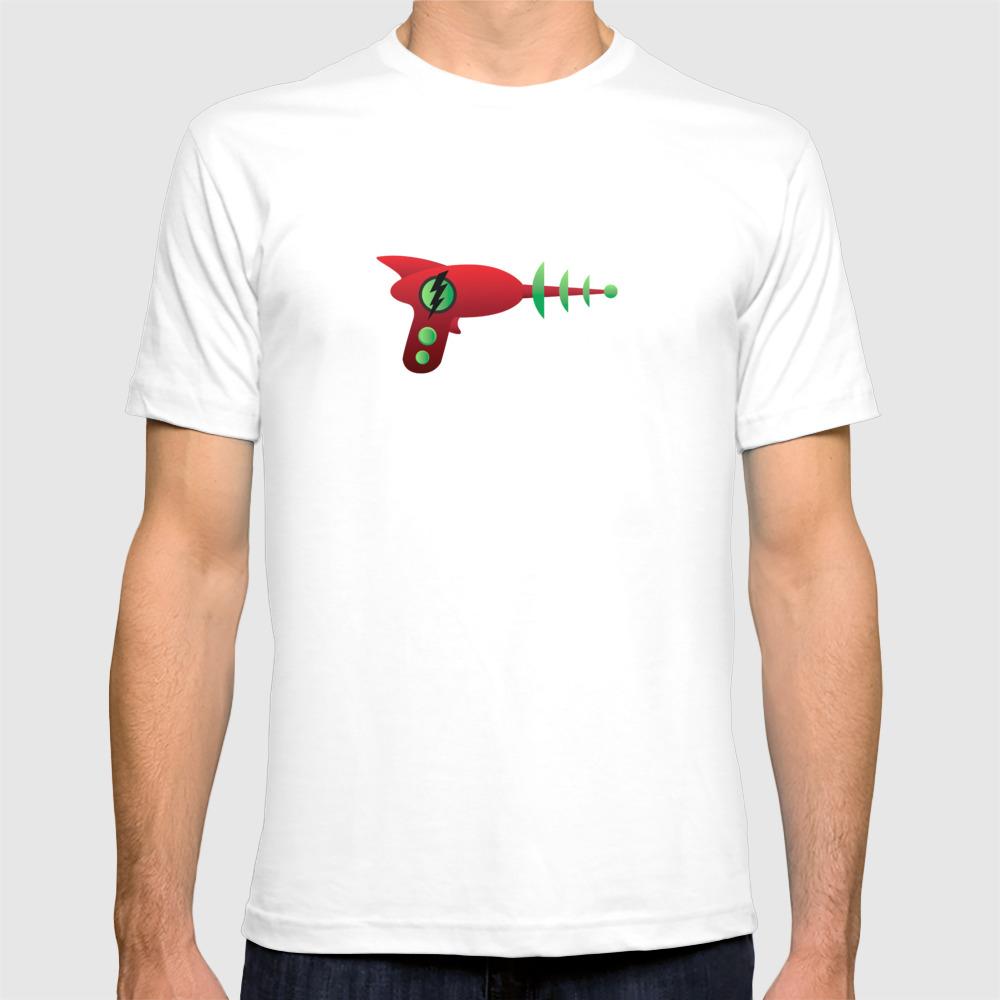 Ray Gun 5 Tshirt by Grubio TSR8101299