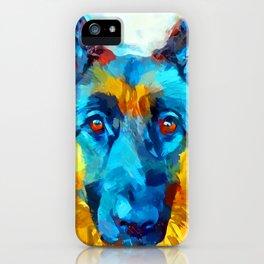 German Shepherd 16 iPhone Case