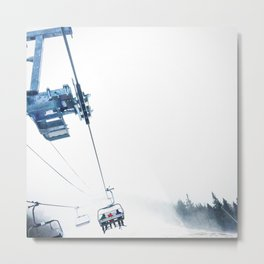 Lifts To The Ether Metal Print