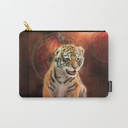 Cute little tiger baby Carry-All Pouch