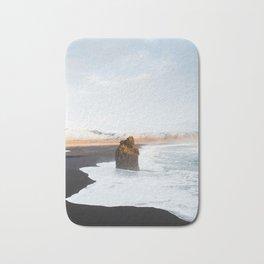 Black Sand Beach, South Iceland Bath Mat