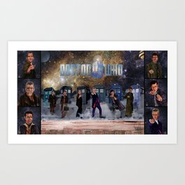 Six Doctors Art Print