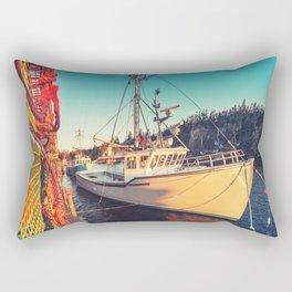 Lobster Trap Colours Rectangular Pillow