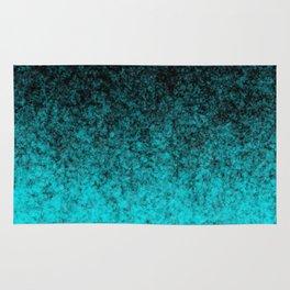Blue Black Atmosphere Rug