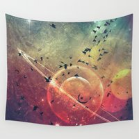 spires Wall Tapestries featuring ∆tmysphyryc by Spires
