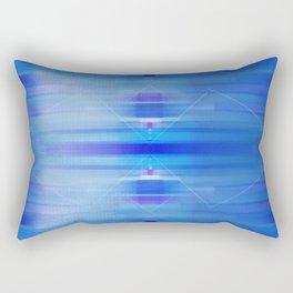 Ocean abstract - blue beach peaceful Rectangular Pillow