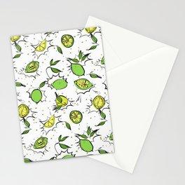 Lime Splash Stationery Cards