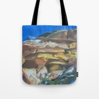 dune Tote Bags featuring Dune by Ana Rafael