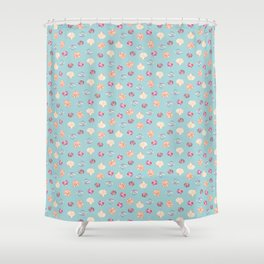Shell Collection Shower Curtain
