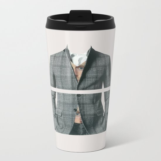 In the heart, in the belly Metal Travel Mug