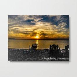 Sunset on the Chesapeake #2 Metal Print