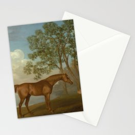 George Stubbs - Pumpkin with a Stable-lad Stationery Cards