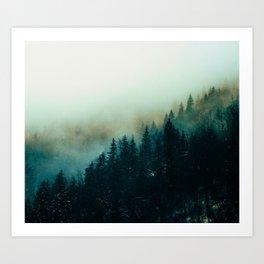 Foggy Magic Art Print