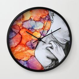Conspiracy Theory Wall Clock
