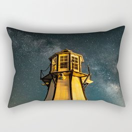 Mountain Light House Two Rectangular Pillow