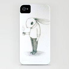coffee bunny Slim Case iPhone (4, 4s)
