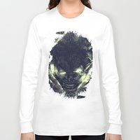 chaos Long Sleeve T-shirts featuring Chaos by Ricardo Ajcivinac