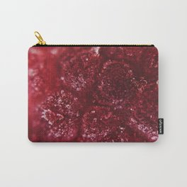 Raspberry Under The Scope Carry-All Pouch