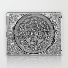 New Orleans Water Meter Cover Crescent City Louisiana Laptop & iPad Skin