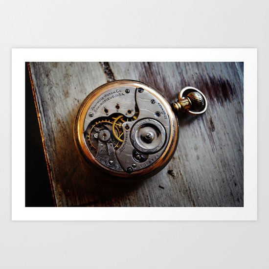 The Conductor's Timepiece - 1 Art Print