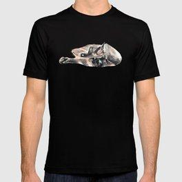 Siamese will cut you. T-shirt