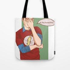 Sheldon Cooper Facepalm Tote Bag