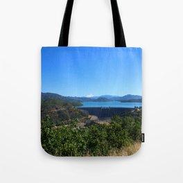 Shasta Lake View Tote Bag