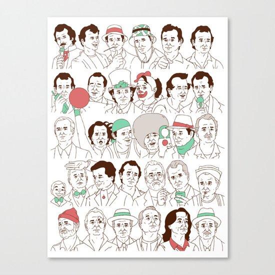 Many Murrays Canvas Print