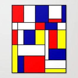 Mondrian #38 Canvas Print