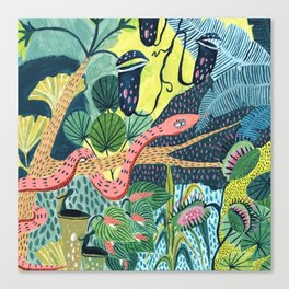 Jungle Snakes Canvas Print