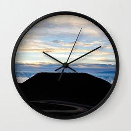 Haleakala Sunrise Pt. 2 Wall Clock