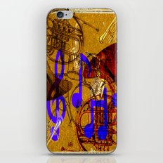 Notes of Sound iPhone & iPod Skin