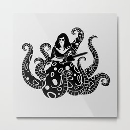The Kraken.  Metal Print