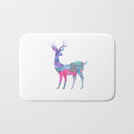 Deer Abstract Bath Mat