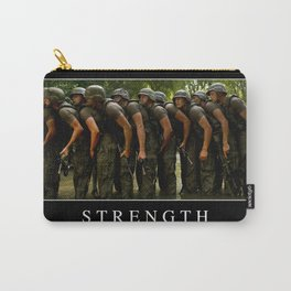 Strength: Inspirational Quote and Motivational Poster Carry-All Pouch