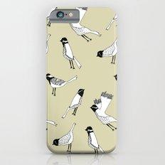 Bird Print - Natural iPhone 6s Slim Case