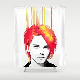 Gerard Way Shower Curtain