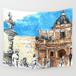 palermus Wall Tapestry