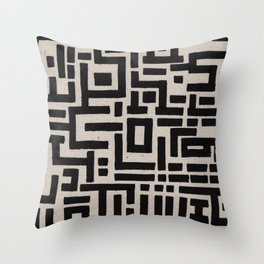 Trip Hop In The City Throw Pillow