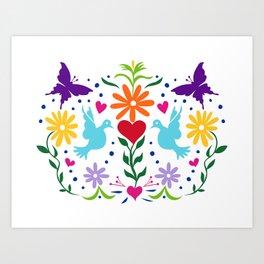 The Love Birds Art Print
