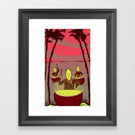 Lemon Boys Framed Art Print